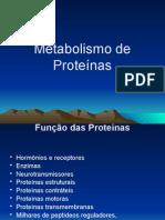 Metabolismo de Proteina
