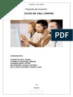 Formulación de Proyecto - Call Center