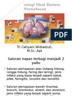Farmakologi Obat Sistem Pernafasan d3