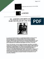 El Asesinato Ritual Del Zar Nicolas II y Su Familia