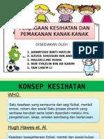 Slaid Kesihatan Dan Pemakanan Kanak Kanak