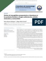 HEMOGLOBINA PREOPERATORIA