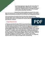 VLSI Project Description
