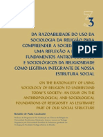 Sociologia da religião para entender a sociedade atual