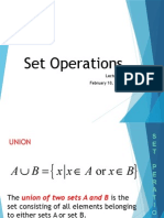 3 Set Operations1