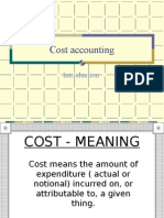 Cost Meaning