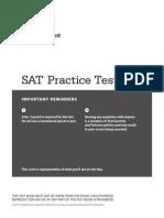 New Sat Practice Test 3