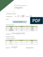 Calculos y Resultados Del LaborTORIO de FISICA 2