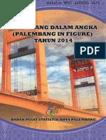 Palembang Dalam Angka Tahun 2014