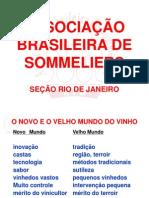 Associacao Brasileira de Sommeliers Secao Rio de Janeiro - Geraldo