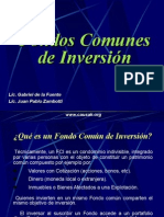 Adm. Financiera - Fondo Comun de Inversion