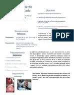 Clase 8 - Manejo Del Paciente Traqueostomizado