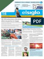 Edición Impresa El Siglo 16-09-2015