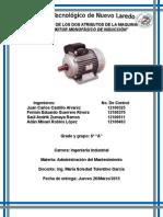 Atributos de La Maquina Motor Monofasico de Induccion