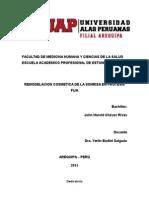 Remodelacion Cosmetica de La Sonrisa en Protesis Fija (Monografía)