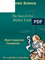 1 1a intro to forensic science overview