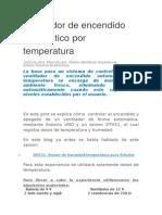 Ventilador de Encendido Automático Por Temperatura