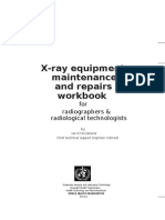 X-Ray Equipment Maintenance and Repair Handbook