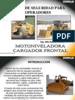 Motoniveladora Cargador Frontal