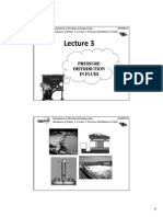 Lecture 3 - Pressure Distribution in Fluid