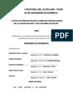 TESIS COSTOS DE PRODUCCIÓN DE LICORES DE FANTASÍA (SIDRA) EN LA CIUDAD DE PUNO Y SUS FACTORES SOCIALES