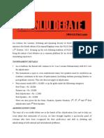 The NLIU Debate 2015