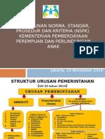 Penyusunan Norma, Standar, Prosedur, Dan Kriteria