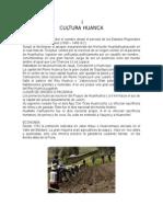 Monografia Cultura Huanca