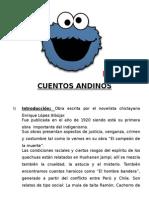 CUENTOS ANDINOS