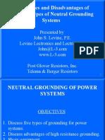 NGR Post Glover Resistance Grounding 2012