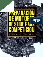 Preparación de Motores de Serie Para Competición - Stefano Gillieri