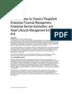 People Soft FIN ESA Rel89 Bundle18 Release Notes