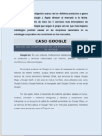 Trabajo Google, Apple