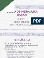 Hidraulica Basica, Clase 1