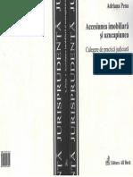 Accesiune Imobiliară Şi Uzucapiune. Culegere de Practică Judiciară - A.pena - 2004