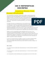 Unidad 5 Matematicas Discretas