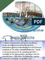 Lic Fisioterapia Terapia de Piscina