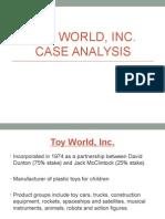 Case Analysis - Toy World