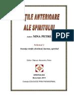 Nina Petre-Vietile Anterioare Ale Spiritului-Vol.1
