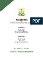 Fertilizer Scenario of Bangladesh
