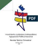Revista teórica Trimestral 2 (2006)