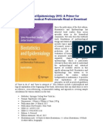 Biostatistics and Epidemiology 2015 a Primer For