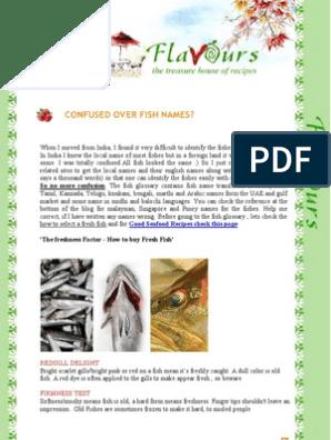 Confused Over Fish Names | Aquatic Vertebrates | Fish