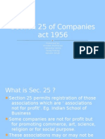 Section 25 of Companies Act 1956