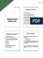 Logic Circuit Notes 1