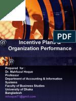 Strategic Mgt. Acc. - Incentive Plans & Organization Performance