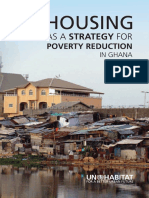 Housing as a Strategy for Poverty Reduction in Ghana