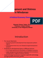 03 Development and Distress in Mindanao - Dr. Eduardo C. Tadem