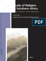 Study of Religion in South Africa