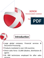 Xerox supply chain